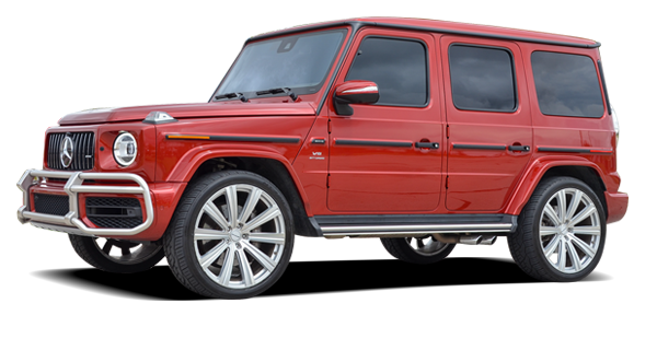 Mercedes AMG G63 For Rent at Platinum Motorcars in Dallas TX
